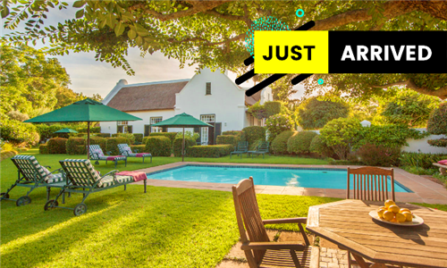 Stellenbosch: 1 or 2-Night Anytime Stay for Two at Van Der Stel Manor
