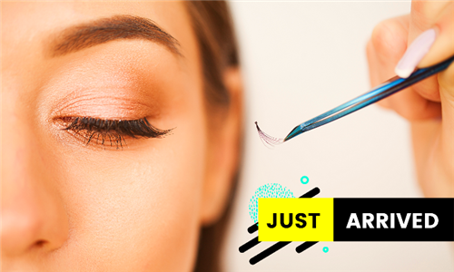 Individual Eyelash Extensions Including Eyebrow Shape & Tint at Up the River Day Spa