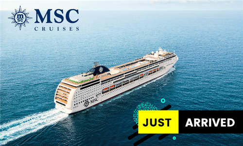 18th December 2021: 4-Night Cape Town, Walvis Bay, Cape Town Cruise for Two Adults Aboard the MSC Lirica