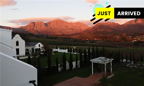 Cape Winelands: 1-Night Anytime Stay for Two Including Wine Tasting at Val Du Charron Guesthouse