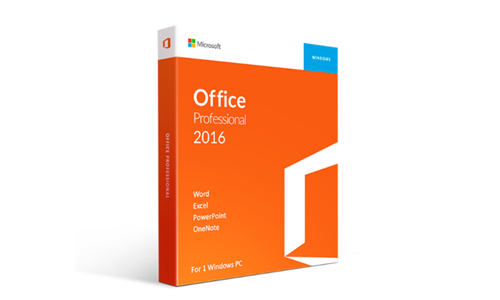 Microsoft Office 2016 Professional with E-courses4you