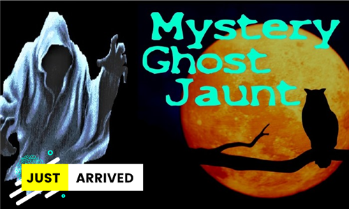 2 x Tickets to Mystery Ghost Jaunt, Parys – 24 April