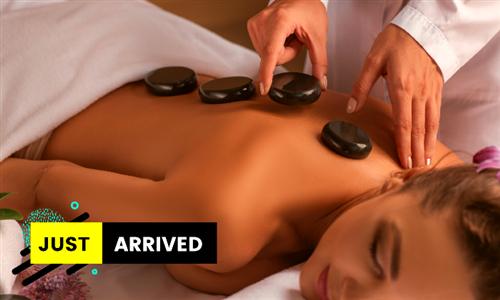 Full Body Hot Stone Massage at Elle Posh Nails & Spa