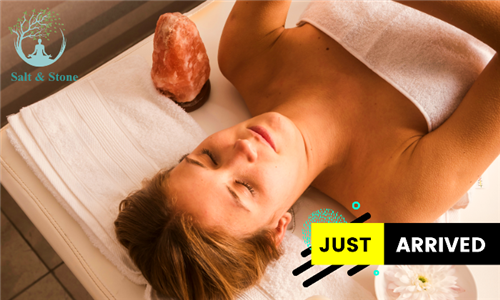 45 or 60-Minute Luxury Himalayan Salt Stone Massage at Salt & Stone