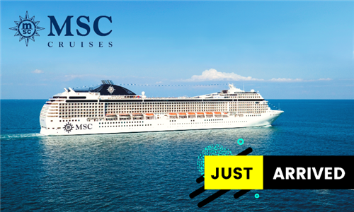 6 December 2021: 4-Night Durban to Pomene, Mozambique Cruise for Two Adults Aboard the MSC Musica