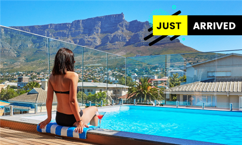 Cape Town: 1-Night Stay for Two with a Bottle of Wine and Couples Spa Treatment at Cloud 9 Boutique Hotel & Spa
