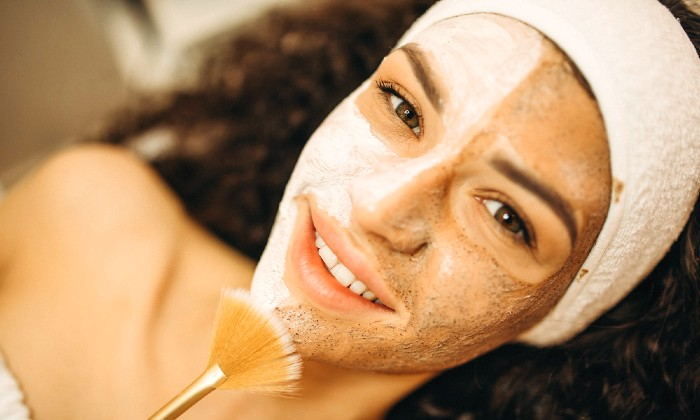 Cleanse, tone, exfoliate and facial mask with optional eye treatment at Spoil Yourself Hair and Beauty Centre