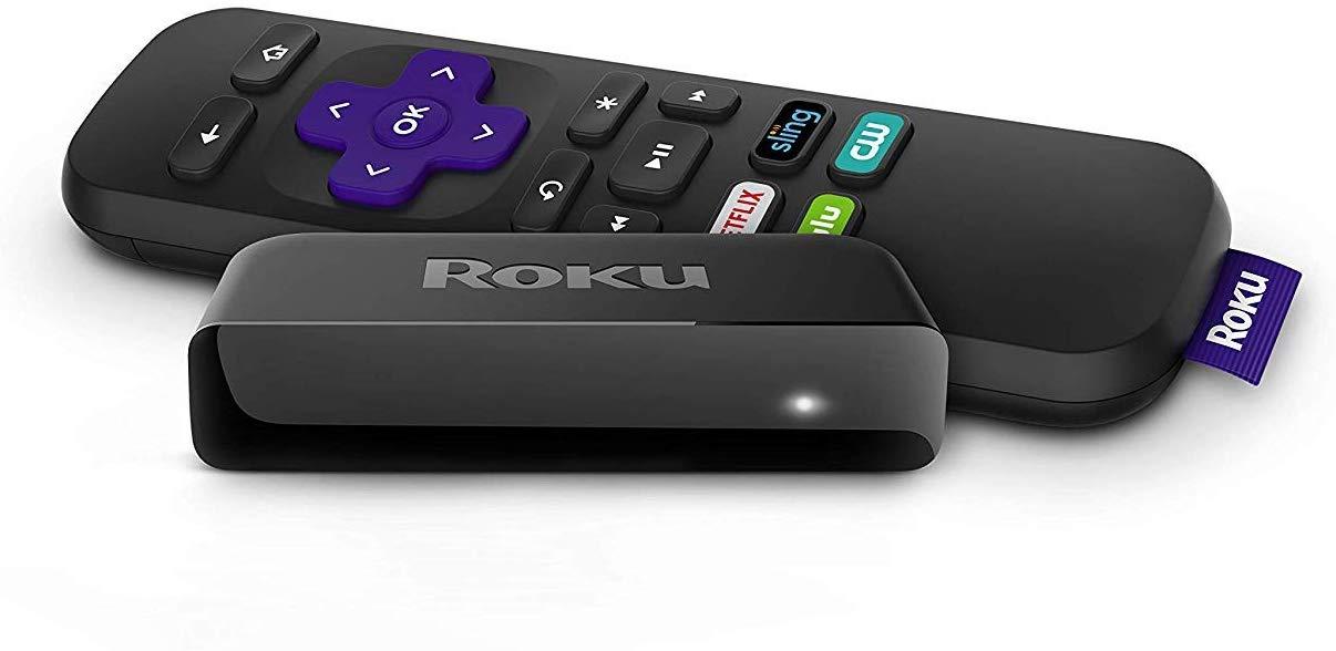 Roku Express | 5X more powerful HD Streaming (2017) (Renewed)