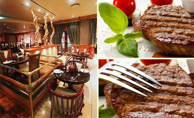 Pay R99 for a Meaty Fiesta for 2 People! Choice of 300g Sirloin or Rump Steak at Coco Bongo, Montecasino (value R198)