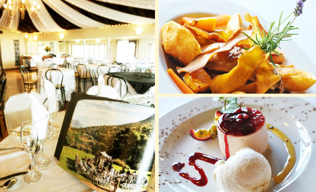 Lavish Lunch for 2 at Suikerbossie in Hout Bay! R99 for 2 mains and 2 desserts (value R210)