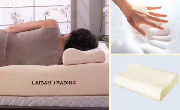 Enjoy a good night's sleep with one (R299) OR two (R499) memory foam contour pillows, delivery included