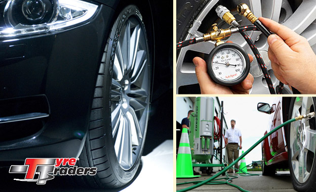 Let Tyre Traders come to your premises and fill all four of your tyres with Nitrogen for only R60 (value R125)