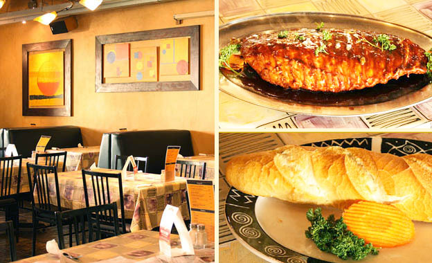 Pay R149 and get 2 x unlimited ribs, 2 x starch and 1 x footlong garlic loaf at Scrooge Diner in Randburg (value R302)