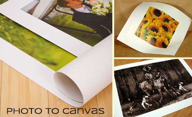 Create lasting memories with Photo to Canvas! Pay R240 for 2x A3 PLUS 1x A2 Canvas Prints including Delivery (value R800)