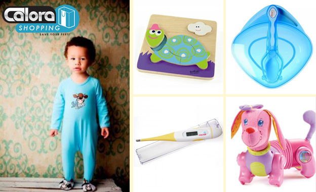 Treat your baby, pet or home with a R150 voucher to use on CaloraShopping.co.za for only R69