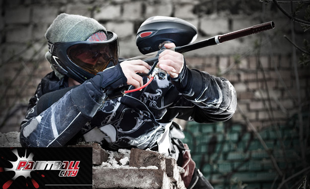 Go commando with a 6-player paintball game including gear and 100 balls per player for R285 at Paintball City, Germiston