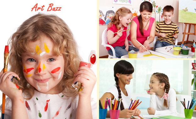 1-hour Art Class for 1 kid or 1 adult (R79) OR for kid + adult (R135) at ART BUZZ, Bugz Play Park