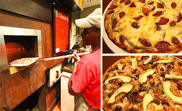 Delish Pizzas! Pay R82 for 2 or R164 for 4 large wood-fired Pizzas at Europa Broadacres, Fourways (value up to R328)