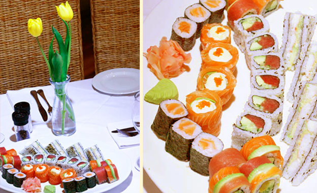 Savour a Japanese-style lunch for 2! R139 for a 28-piece Sushi Platter at Bellagio in Birnam (value R290)