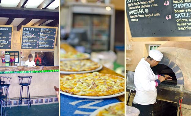 Wood-fired Pizza & Wine for 2! Pay R69 for two pizzas PLUS two glasses of wine at Green Barn, Melkbosstrand (value R144)