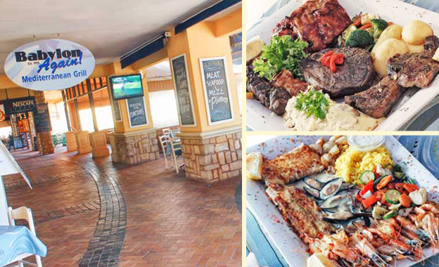 Enjoy a Seafood (R135) or Grillhouse (R175) Platter for 2 OR both Platters for R309 at Babylon Again, Randburg