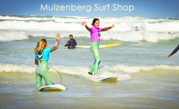 Get ready for summer with a 1½ hour intro surf lesson incl board, wetsuit and use of showers for R79 at Muizenberg Surf Shop