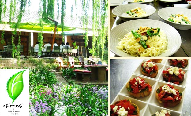 Pay R149 for R300 worth of food (2 people) OR R298 for R600 worth of food (4 people) at Fresh @ Hands on Retreat, Craighall