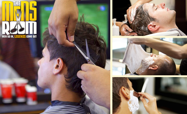 Men's Hot Towel Shave and Facial, Scalp Massage & Haircut for R119 at The Mensroom, Diep River (value R242)