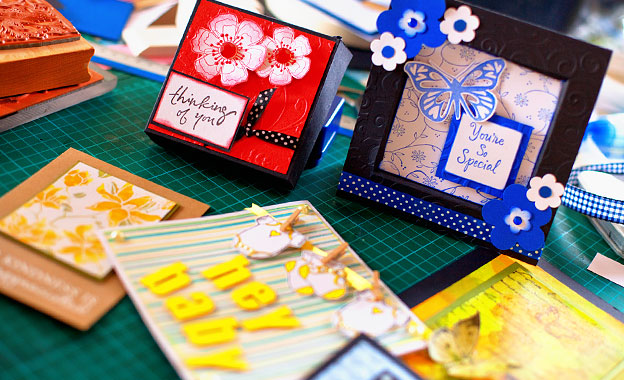 Craft your own cards with a 3-hour workshop for adults at Simply Creative in Table View for R99 (value R220)