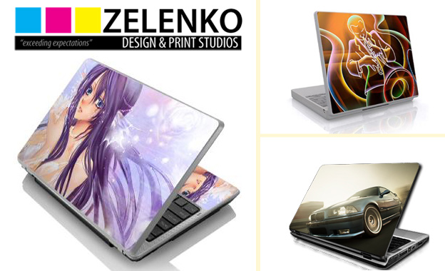 Show your laptop some love with Customised Laptop Skins at Zelenko Design and Print, starting at R50