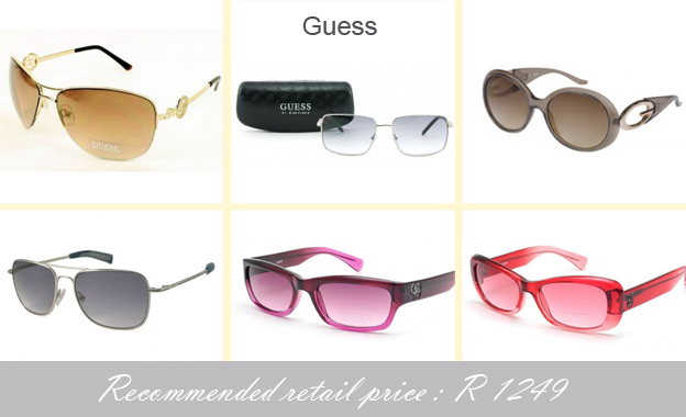 Save 60% on a pair of original & stylish Guess or Aquaswiss sunglasses starting at R499 from VIP Club including delivery