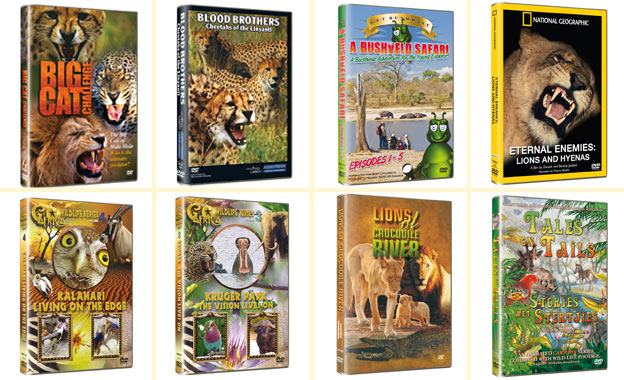 Get a Wildlife Collection (8 DVDs) delivered directly to your door for R447 from Take Africa Home (value R894)