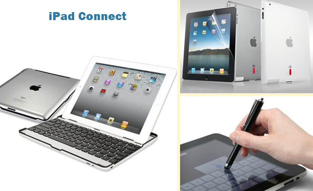 Get your aluminum iPad cover & stylus or screen protector for R499 or all 3 for R559, including delivery from iPad Connect