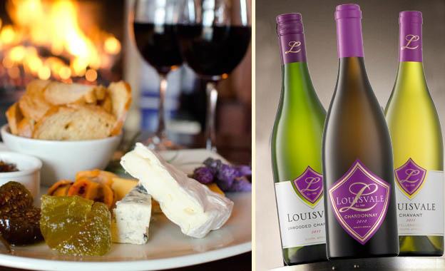 Wine Tasting for two PLUS snack platter for R69 at Louisvale Wine Estate, Stellenbosch (value R140)