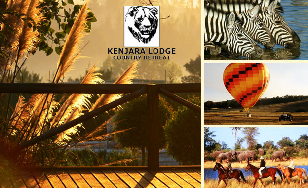 Country Charm! R375 (2 adults) or R525 (2 adults + 2 kids) per night PLUS breakfast at Kenjara Lodge, Muldersdrift