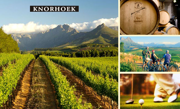 Winelands getaway for 2 or 4 starting from R399 per night at Knorhoek Country Guesthouse, Stellenbosch (value up to R2200)