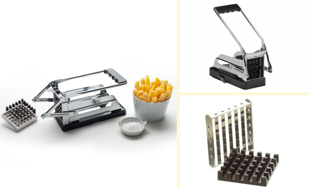 Prepare meals in an instant with a Potato Chip Cutter (R299) or Nicer Dicer Plus package (R329) including nationwide delivery