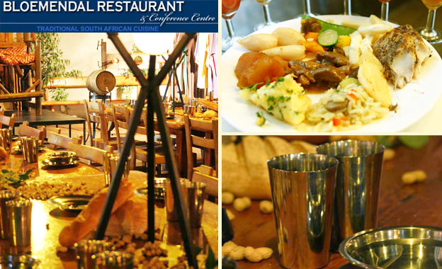 Experience Bloemendal Restaurant! Seafood buffet starting from R149 for 2 OR Medieval banquet for 2 for R299