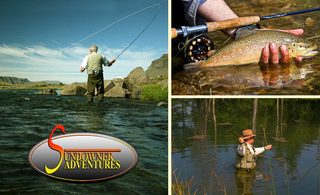 R150 for a 2.5 hour introduction to Fly Fishing with Sundowner Adventures at Barbus Haven, Magaliesburg (value R300)