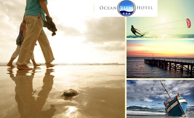 Weekend stay at Ocean View Hotel in Strand! R890 (2 people, 2 nights) OR R1950 (6 people, 1 night) including breakfast