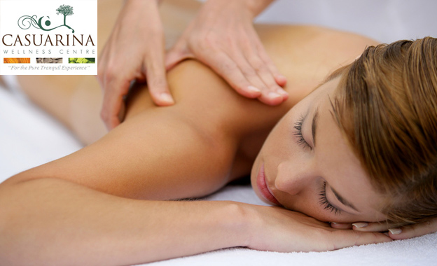 R179 for a full body massage & steam room OR R599 for a Journey to Discovery package at Casuarina, Commodore Hotel