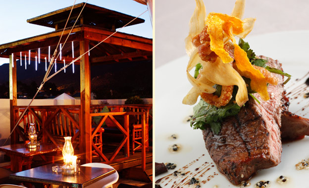 Succulent rumps in Whale Town! R95 for 2x 200g mature rump steaks plus sides at EAT restaurant in Hermanus (value R190)