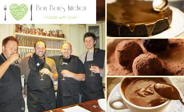 Yummy 3-hour chocolate themed baking class for R269 (OR R299 incl. apron) with Bon Bon's Kitchen, Waterkloof Ridge