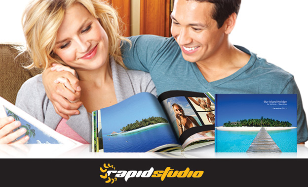 Pay R199 for a 24-page, Hard Cover PhotoBook (A4) or any purchase to the value of R400 on RapidStudio.co.za (delivery included)