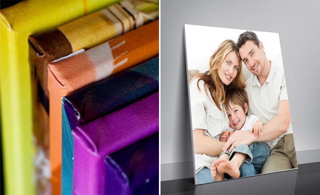 Get a personalised 800mm x 565mm printed and mounted canvas for only R240 at Wizardz, Tygervalley (value R600)