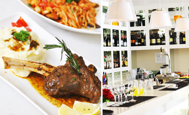 Lavish dinner for 2, 4 or 6 people from R135 at Rocca Restaurant in the chic Cape Quarter, Green Point (save up to 60%)