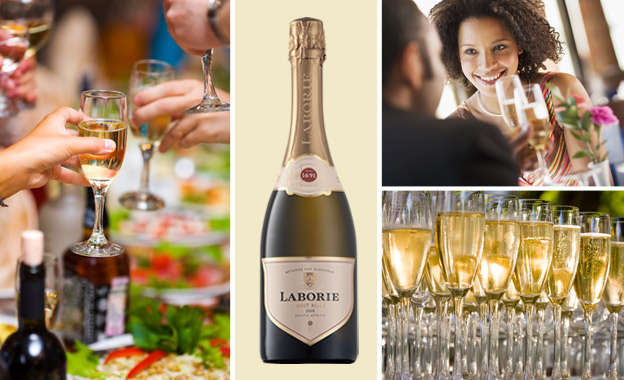 R699 for 6x bottles of MCC Laborie Brut Rosé 2008 (John Platter 3.5 stars) including delivery (value R1200)