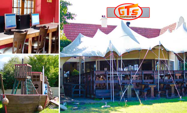 Enjoy Surf & Turf Platters, with a choice of Burger/Pizza for kids at GT-s Restaurant in Somerset West, starting from R99
