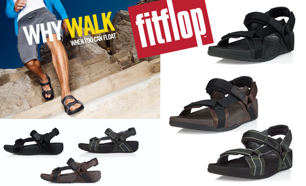 Pay R389 for a pair of men's Hyker sandals by FitFlop (value R779, includes nationwide delivery)