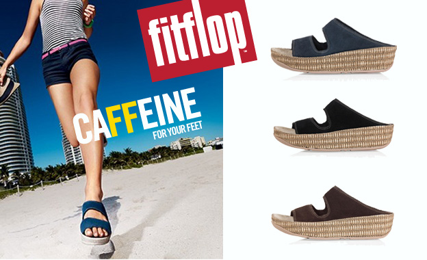 Pay R414 for a pair of ladies Lolla sandals by FitFlop (value R829, includes nationwide delivery)